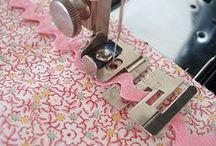 Costura Técnicas / Técnicas de costura / by Beatriz Liccien