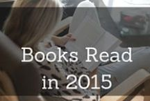 Books Read in 2015 & 2016 / Books I have Read in 2015 & 2016