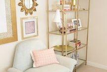 g o l d _ & _ m i n t / gold and mint interiors