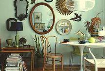 g r e e n _ & _ b r o w n / green & brown interiors