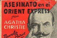 """Policiaco - AC - SBO1 / Portadas de novelas Policíacas - Agatha Christie. Selecciones Biblioteca Oro de Editorial Molino (""""Serie Roja"""")"""