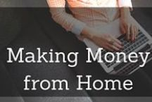 Making Money from Home / Ideas for making money from home. Ways to save, apps that make money, freelance ideas, free products, and more.