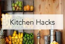 Kitchen Hacks / Technology that makes life simple. Genius inventions that make cooking, cleaning, and life around the kitchen much easier.