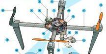 Drones / Τετρακοπτερα
