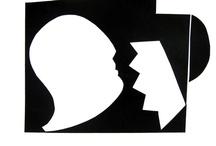 OMBRE Opere su carta; andrea mattiello / #arte #art #artecontemporanea #artista #artistaemergente #creatoredimmagini #tecnicamista #carta #paper #collage