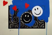 OPERE SU CARTA andrea mattiello / #art #arte #contemporanea #tecnicamista #carta #paper #cardboard #collage