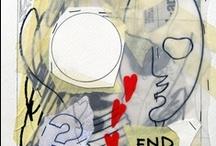 PEOPLE OF THE WORLD andrea mattiello /  #arte #art #contemporaryart #tecnicamista #carta #collage #acrilico #grafite, 2008