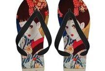 Flip Flops Sandals - Funny and Unique design