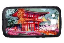 Samsung Galaxy S3 - Best Oriental Japanese Themed Cases / Set of unique and the best oriental japanese themed and fully customizable cases for Samsung Galaxy S3. Best gift idea.