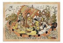 Posters - vintage and oriental fine arts / #Poster #vintage #oriental #japanese #ukiyo-e #hanga #art #home #decoration