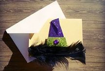 Handmade Halloween Cards/Decor