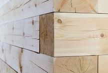 and wood ••• / wood's touch  / by muriel biau