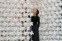 art love 3 // paper art ••• / sculptures, pliages, découpages ……..