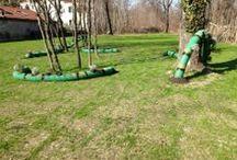 """Mad Green Lab 1 - Bruco Fiorito / Mad Green è un laboratorio itinerante in Barona, rivolto a chi vuole imparare a coltivare creativamente """"fazzoletti"""" di terra urbani: balconi, davanzali, terrazzi, cortili, giardini condominiali, ma anche orti domestici o orti didattici, piuttosto che piazzole o giardinetti abbandonati. Un gruppo di appassionati del verde ha realizzato di un vivaio creativo!"""