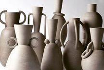 brown & natural ceramic ••• / céramiques marron et naturelles