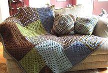 Crochet HÁČKOVÁNÍ - DEKORACE / háčkování , háčkované kabelky, háčkované deky , háčkované hračky , KOBERCE HÁČKOVANÉ,