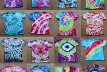 Tie Dye Bags / Bags for fashion and textiles