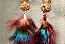 Pluma Handmade - earrings / 100% unique and handmade jewelry and other items for a down-to-earth look and that mindful connection to the energies that surround us. http://www.etsy.com/shop.Plumahandmade