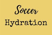 Soccer Hydration / Staying hydrated is essential to staying at the top of your soccer game!  For more great youth soccer resources, visit www.gftskills.com