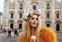 TRAVEL EDITORIALS / Travel x Editorial x High Fashion