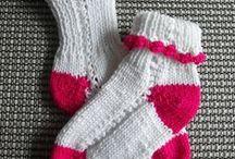pletené / pletené ponožky, pletené tašky, pletené vzoryx, pletené bačkory
