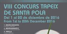 Concurso VIII Tapeix Santa Pola / El Tapeix es un concurso de tapas que organiza el Ayuntamiento de Santa Pola en colaboración con la Asociación Empresarial de Hostelería y Ocio, para promocionar el Peix de Santa Pola, distintivo de calidad que identifica el pescado que desembarcan nuestros marineros en el puerto cada día.