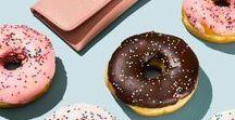 TAKE YA TO DA DONUT SHOP / Pastels/brights meet grunge/vintage all at a donut shop. It's going downnnn.