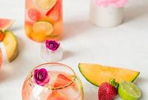 Drink Recipes: Cocktails and Mocktails / Yummy drink recipes for adults and kids. The best in cocktail and mocktail recipes for your next celebration  or backyard gathering.