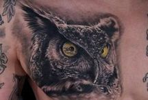 Owl Tattoo / http://www.tattoosideas.co.uk/owl-pictures.html