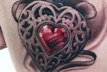 Heart Tattoo / http://www.tattoosideas.co.uk/heart-pictures.html