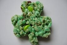 St. Patrick's Day Decorations and food / by Patty Linfante