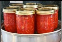 Preserving Food / Recipes and methods for drying, freezing, canning, root cellars, fermenting, and any other ways for preserving the harvest, both wild and cultivated foods, both meat and vegetable foods.