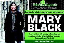 Mary Black Live in Concert / McGettigan's present Irish music legend Mary Black as she gets ready for her final ever international tour for one night only. Support from Roisin O.  Friday 22nd Nov 2013