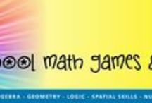 Math games & puzzles / For high school students.