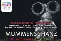 "MUMMENSCHANZ ''MUSICIANS OF SILENCE'' / Abu Dhabi Tourism & Culture Authority in association with Alchemy Project present:   The Mummenschanz ""Musicians of Silence"" The World Renowned Mime Theatre comes to Al Ain for the Very First Time."