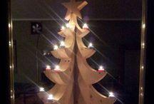 Christmas-tree / Fai da te legno wood