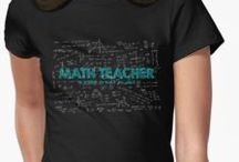 Math T-Shirts / Mens, Womens and Childrens t shirts with math, science designs.