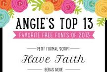 Fonts / Tipografías / Diferentes tipografías como fuente de inspiración