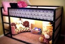 Girls room ideas / by Roxanne Babcock