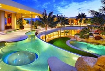 PATIO & POOLS / Beautiful patios and swimming pools that elicits a double-take! / by Jolisa Hume