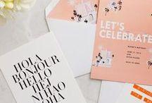 Invites & Pretty Paper / by Sara Stoner Beukema