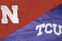 horned frogs & huskers.