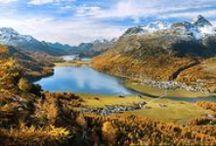 Engadin St. Moritz Views & Panoramas / by Nira Alpina