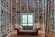 Bookshelves / by Kelly Brenner