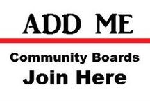 COMMUNITY BOARDS - ADD ME / Hello, welcome to my Community Boards!! If you would like to be a Contributor to any of my boards, please leave a message on the board you would like to join.  RULES:  Please add VERTICAL IMAGES ONLY instead of small horizontal pins to ensure uniformity,  My boards are Family Friendly so PLEASE NO NUDITY OR SPAM!  Also please be respectful of others and not repin the same image of someone else's pin onto the same board.  Thank You and Happy Pinning! / by Jolisa Hume