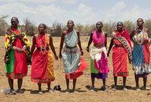 AFRICA (MAASAI) / by Sharon