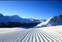 Spring on the slopes / Skiing in the spring is great: slightly higher temperatures and a good chance to catch a tan!