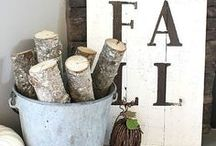 Fall ideas for the home / Bring beautiful fall colors and flavors into your home with these autumn accessories, recipes and more. This is also where you'll find our holiday decorating ideas for Halloween and Thanksgiving.