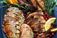 Thanksgiving recipes / When November starts, it's time to start planning the menu for Thanksgiving. From turkey recipes to side dishes and top desserts, this board has everything you need to get started.