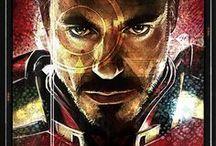Robert Downey Jr./Tony Stark / HE IS THE IRON MAN.